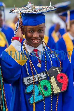 Palatka High School Graduation