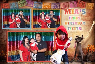 Mia's First Birthday Fiesta