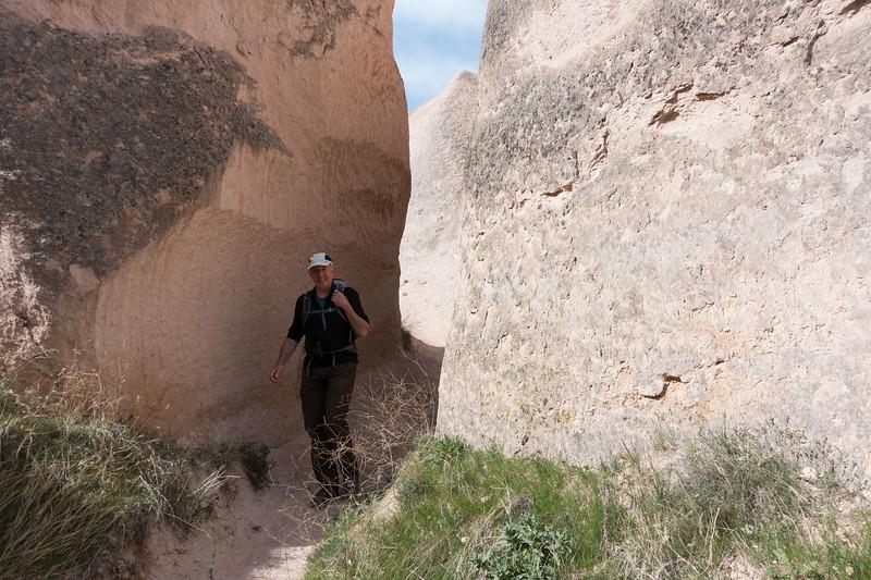 cappadocië, bozdag mountain