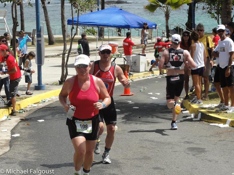 Sau Juan Half Ironman Nice day for a jog