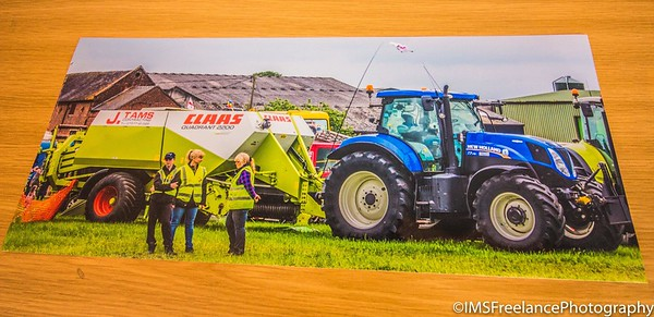 16x7 print produced for J.Tams Contracting who attended the 2017 Smallwood Vintage Rally in Sandbach (Cheshire)