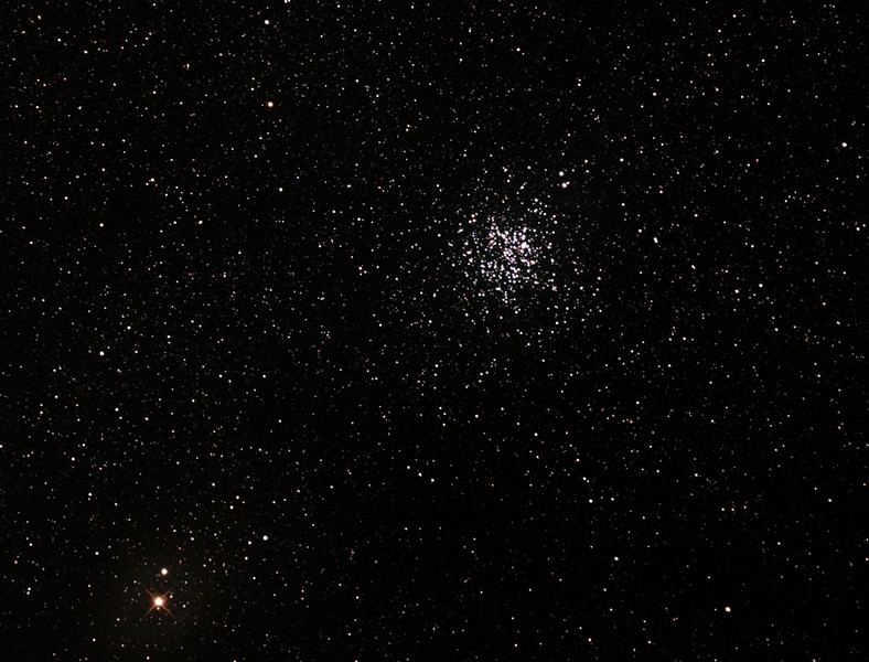 Messier M11 - NGC6705 - Wild Duck Cluster in Scutum - 22/6/2015 (Processed cropped stack)