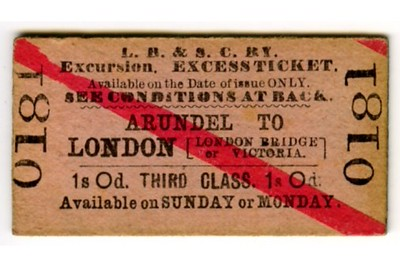 LBSCR miscellaneous tickets