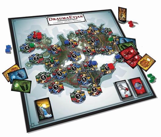 Draumaeyjan - Boardgame