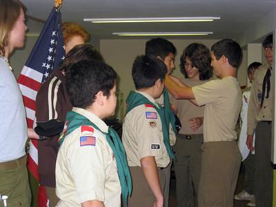Troop Meeting - Aug 25