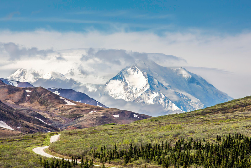 Mt. McKinley, from Denali Park Road, May 27, 2015