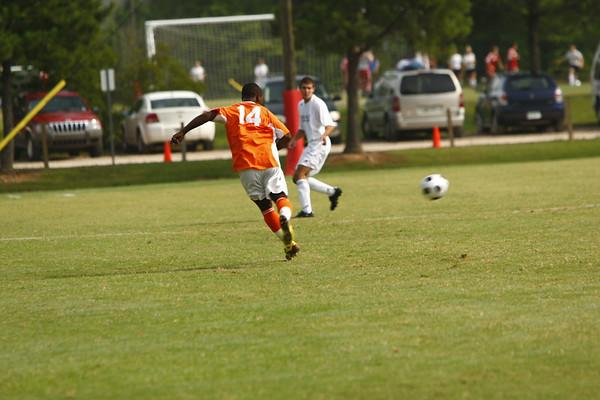 Tennessee vs North Carolina (0-3) Soccer June 23, 2008