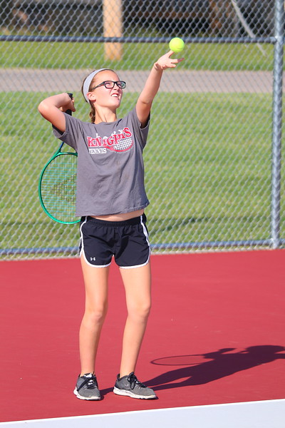 WMS Girls Tennis 6th Gr    092116