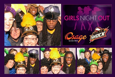 Osage Casino/Tulsa Shock Girls Night Out Sept 18th 2012