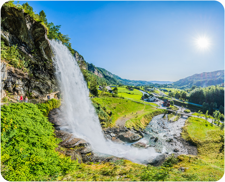 Steinsdal Waterfall