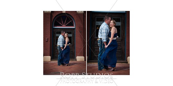 Amber & Ben Final Engagement Book