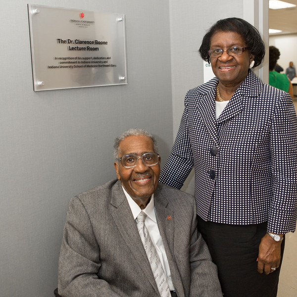 Dr. Clarence Boone - Room Dedication