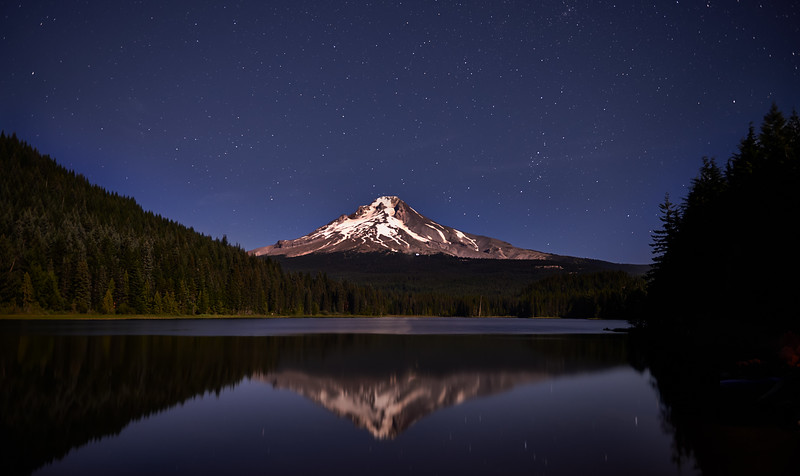 Trillium Lake, Under Stars