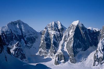Ruth Glacier Peaks