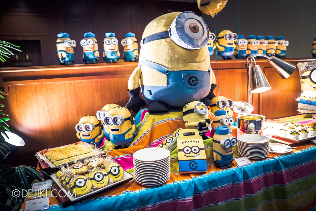 Despicable Me Breakout Party at Universal Studios Singapore / Minion-themed food and snacks