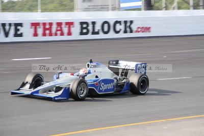 IZOD Indy Practice/qualifying NHMS 08/13/11