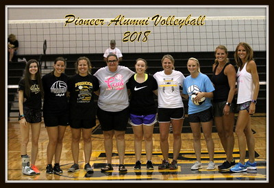 Pioneer Alumni Volleyball 9/1/2018