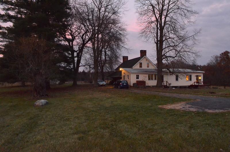 Grandma's childhood farm house near Gardiner, NY.