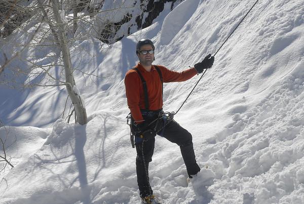 Ice Climbing Febriuary 22, 2010