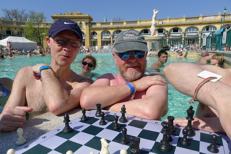 Chess in the Spa