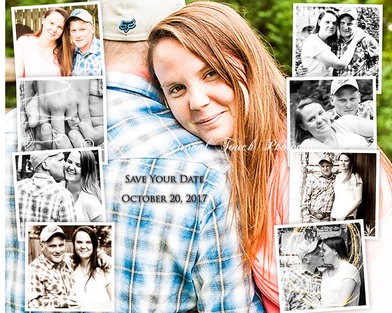 Jessica and Brandons engagement pictures