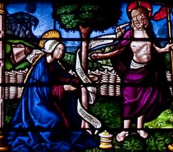 Troyes Sainte-Madeleine Church, The Madeline Window - Noli Me Tangere
