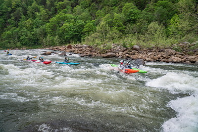 5-3 Cheat River Race 2019