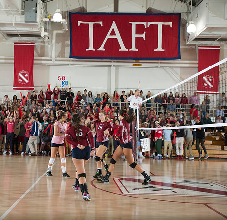 10/1/16: Varsity Volleyball v Convent of the Sacred Heart