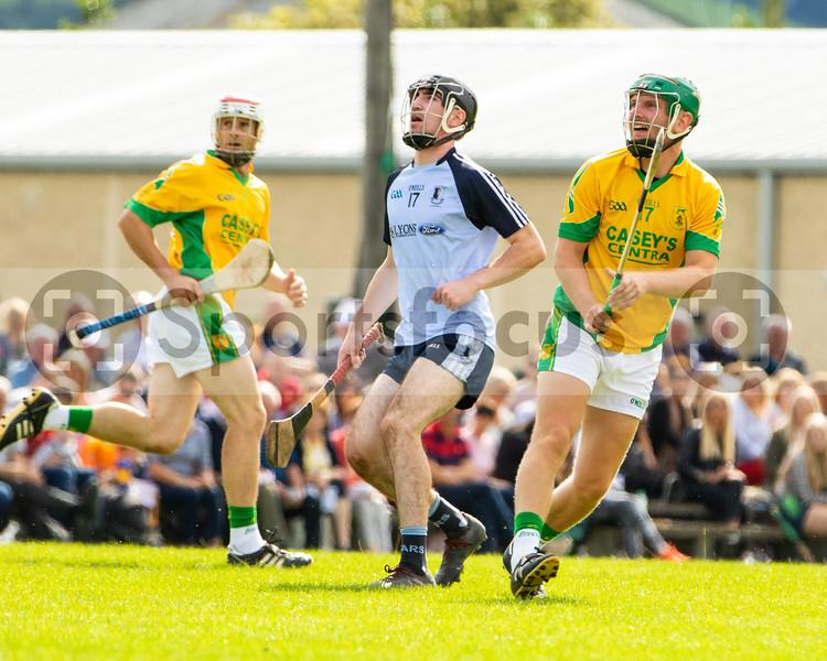 Nenagh Eire Og's A Healy and Toomevara's P Grace
