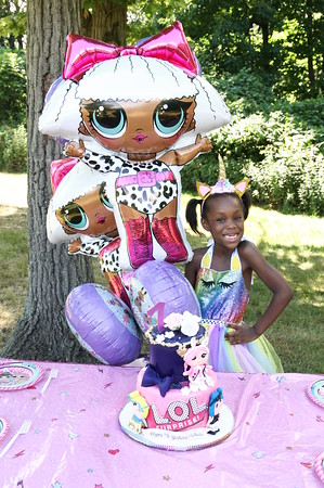 JULY 1ST, 2020: CATHELIA'S 7TH BIRTHDAY BASH