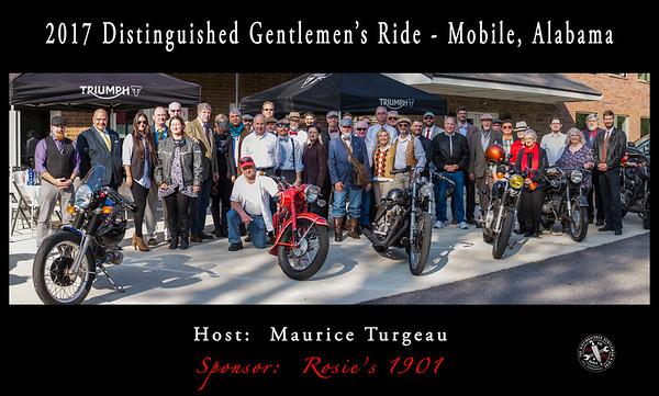 Distinguished Gentleman's Ride -2017