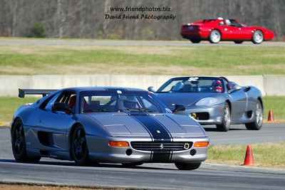 Ferrari Club of North Carolina - VIR Track Day - November 9, 2006
