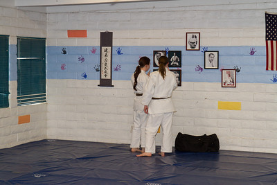 Meghan Gainer Black Belt Ceremony Jujitsu