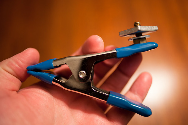 January 10, 2012 - Clamp mount gadget