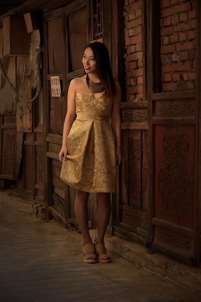 Fashion Shoot in Beijing, China
