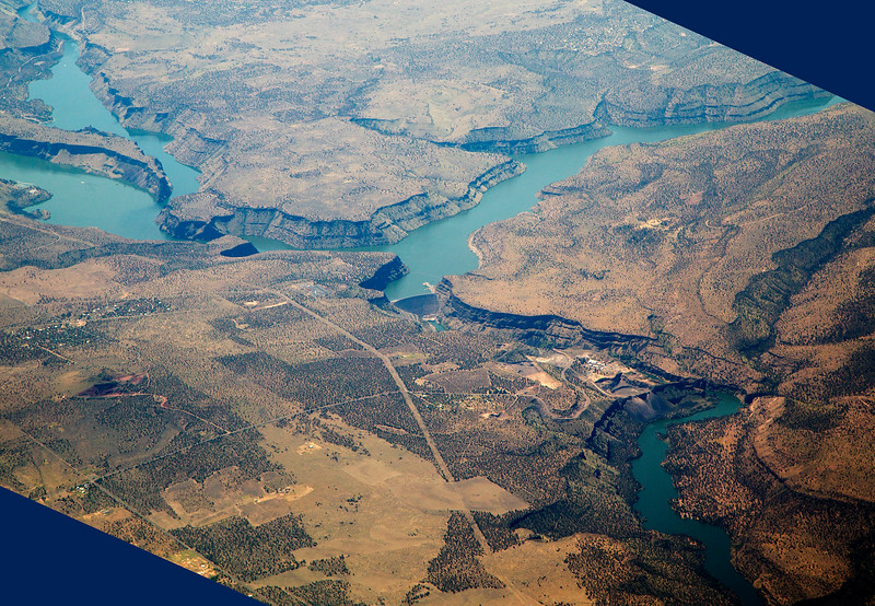 Round Butte Dam, Oregon