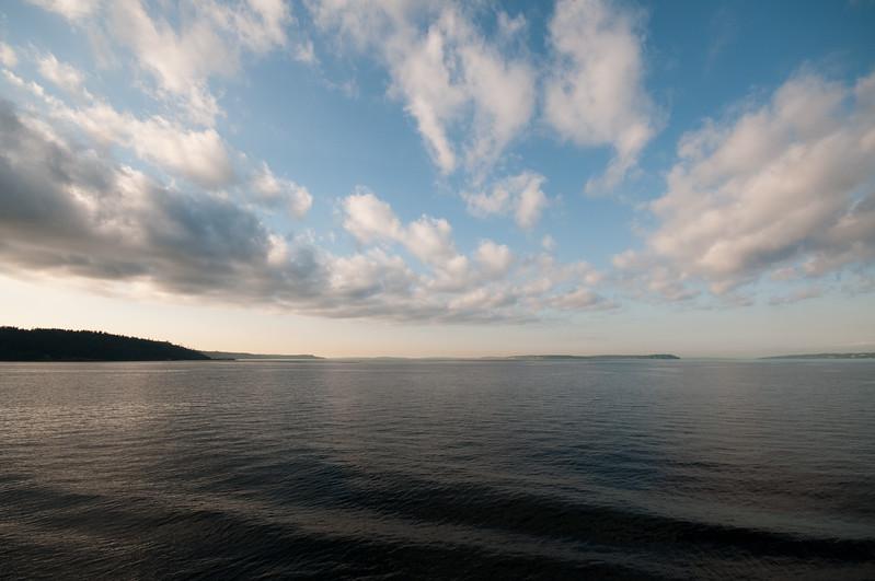 Pretty sky on Puget Sound.