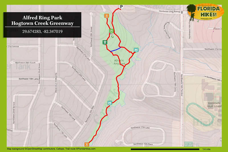 Alfred Ring Park Trail Map