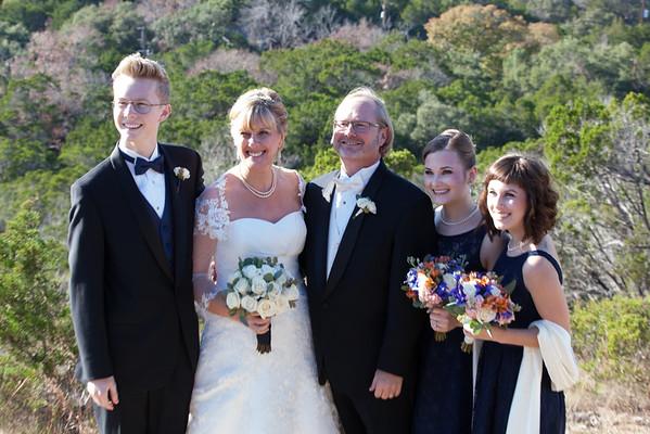 Tom Sarah After Ceremony