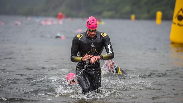 Sportpursuit Slateman Triathlon - Legend Swim Exit