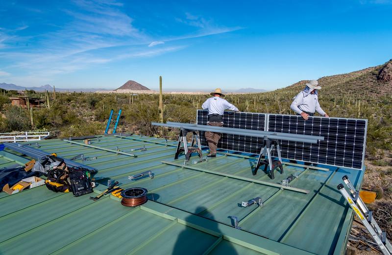 Solar Panel Installation #1