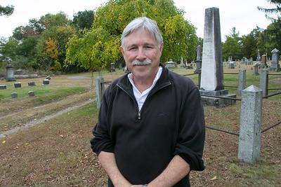 Mark Bodanza will be giving tour of cemetery