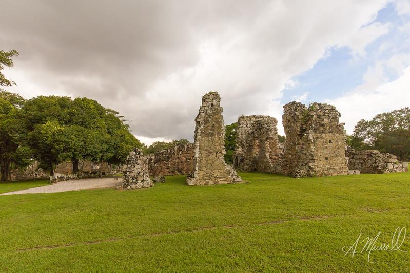 Ruins of Old Panama; Panamá Viejo;