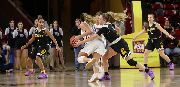 2017-2018 Gilbert Girls Basketball vs Valley Vista 2-21-18 State Semifinals