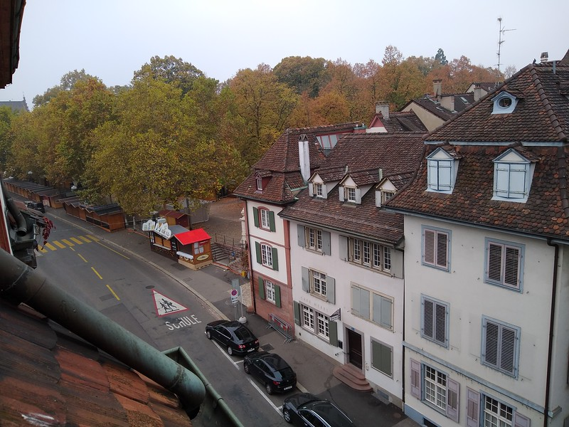 View from hotel in Basel