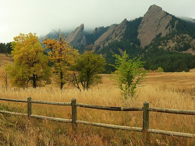 Oct 6th Boulder:Chautauqua Park and Pearl St