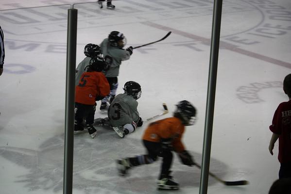 Tyler's Team vs Icedogs Mite Gray