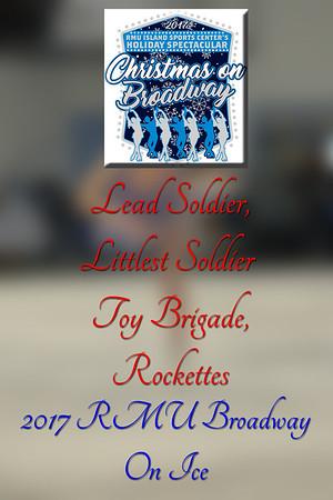 Lead Soldier,Littlest Soldier, Toy Brigade,Rockettes