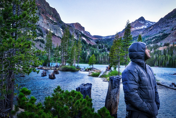 Backpack to Green Lake and Virginia Pass