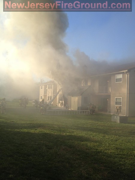 12-11-2011(Camden County) GLOUCESTER TOWNSHIP - 1341 Blackwood Clemention Rd Apartment 645 - Apartment Fire